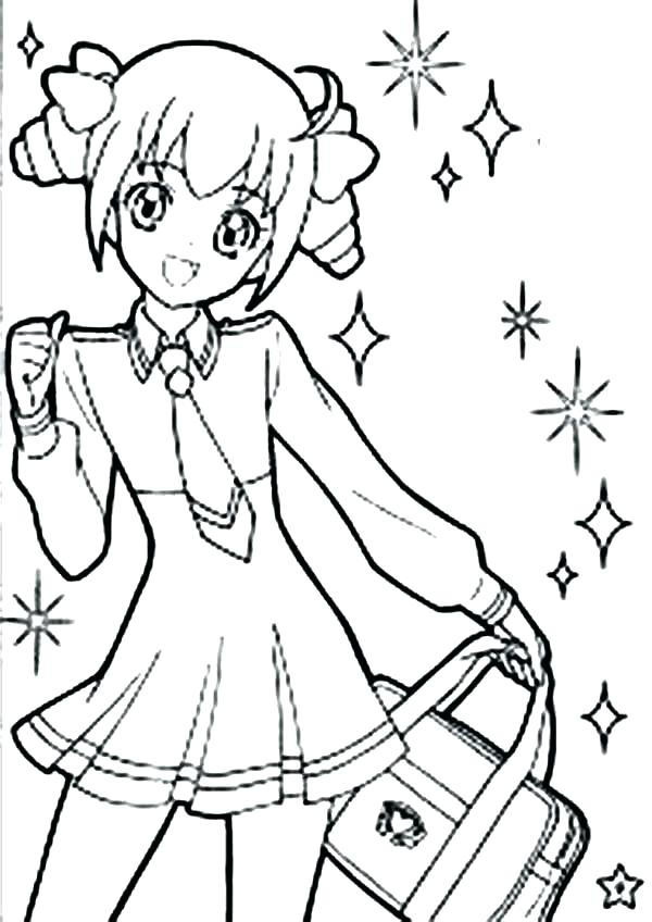 600x848 Cute Chibi Coloring Pages Synthesis.site
