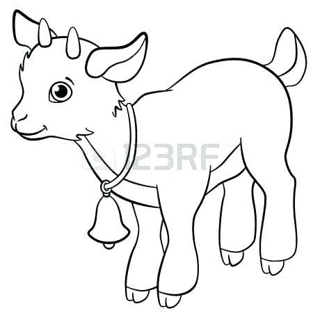 450x450 Goat Coloring Pages G Is For Goat Coloring Page Goat Simulator