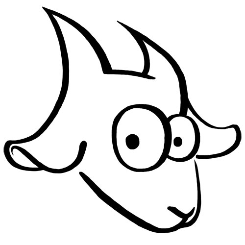 500x500 Goats Inksplot Studios