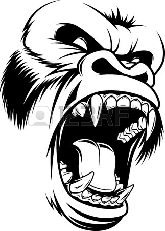 323x450 Gorilla Stock Photos. Royalty Free Business Images