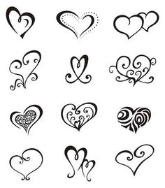 236x269 Girly Tattoos Simple Heart Tattoos, Easy Tattoos And Heart