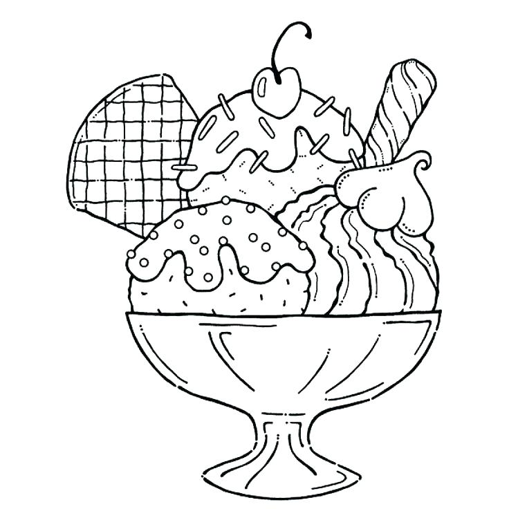 736x736 Ice Cream Coloring Pages Together With Cute Ice Cream Coloring