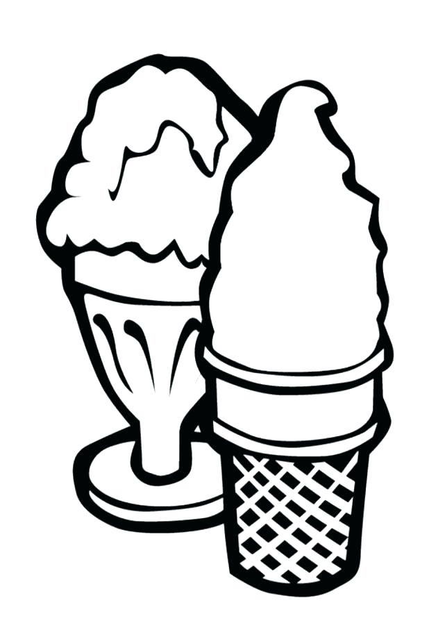 618x907 Ice Cream Coloring Template And Cute Ice Cream Coloring Pages 513