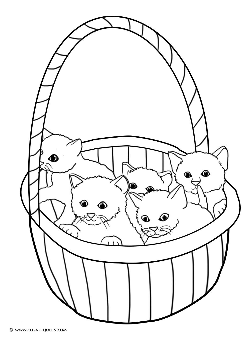 1042x1476 Cat Coloring Pages