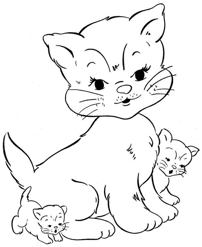 Cute Kittens Drawing