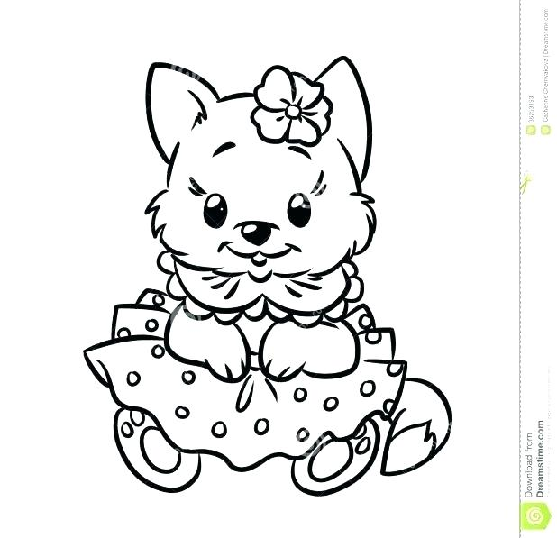 618x597 Kitty Color Pages Hello Kids Coloring Cute Cat