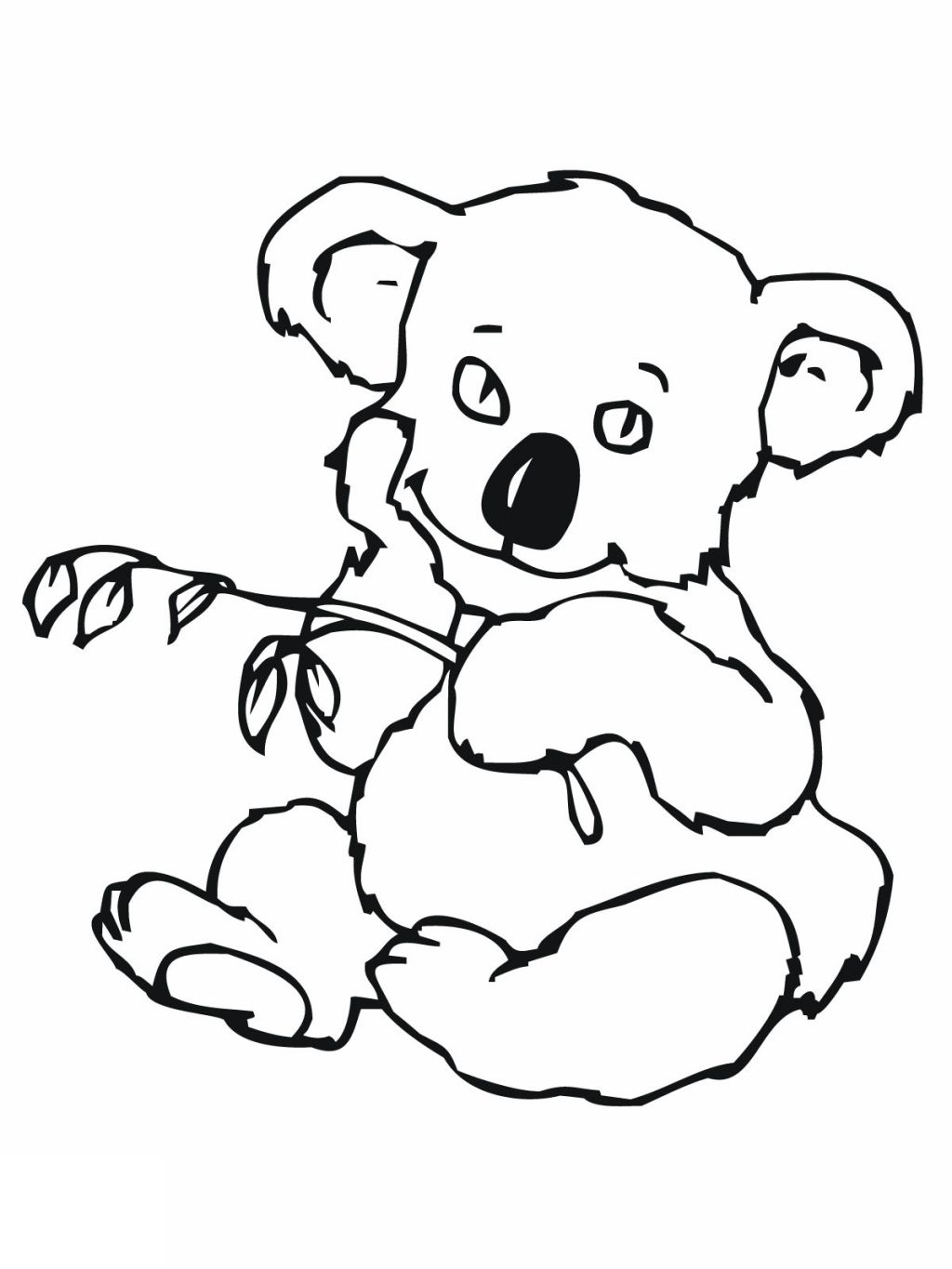 Cute Koala Drawing At Getdrawings Com Free For Personal Use Cute
