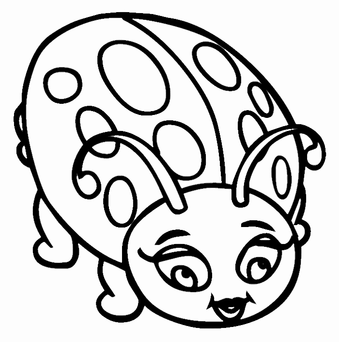 700x705 45 Lovely Stock Of Ladybug Coloring Pages