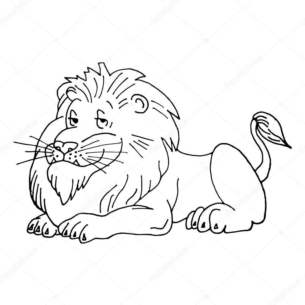 1024x1024 Lion Vector. Lion Icon. Lion Illustration. Lion Logo. Lion Animal