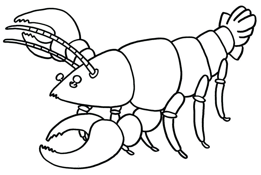 1024x687 Lobster Coloring Page Lobster Coloring Page Free Coloring Pages