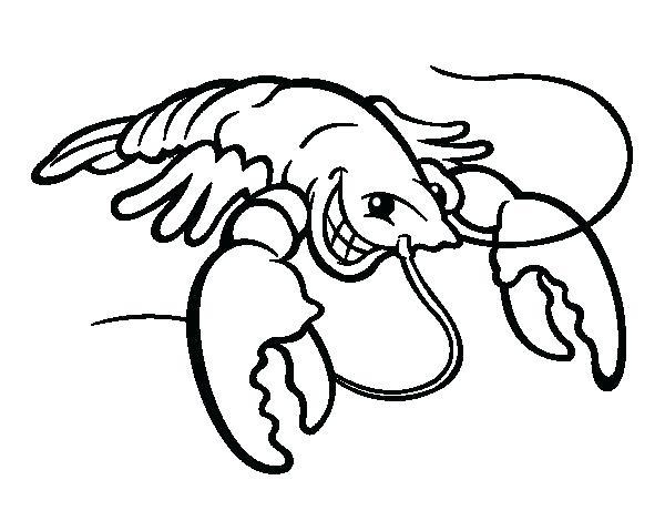 600x470 Lobster Coloring Page Lobster Coloring Page Super Lobster Boat