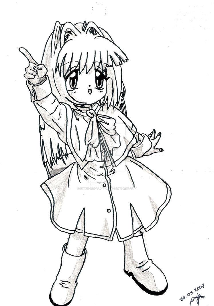 747x1069 Cute Manga Girl 2 By Fiestapalladia