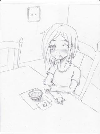 320x429 Dinner Time! ^ ^