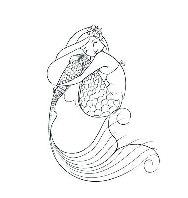 380x400 Mermaid Fairy Tale Character Vector 1295609