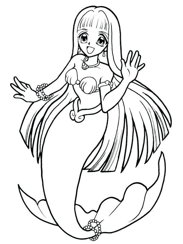 600x800 Beautiful Mermaid Coloring Page Print Pagesspirational Cute