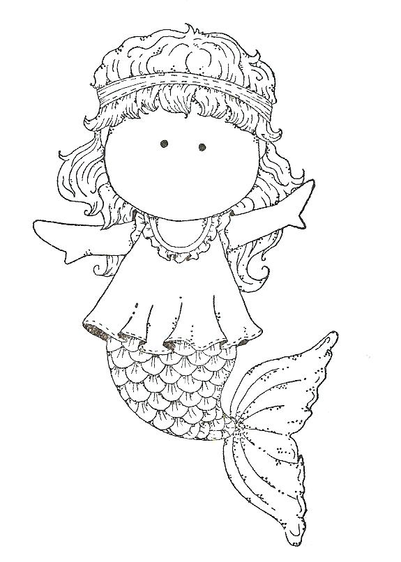 575x806 Cute Mermaid Coloring Pages Mermaid Coloring Pages In Conjunction