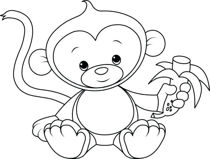 700x529 Monkey Color Page Cortefocal.site