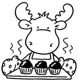 Cute moose coloring pages ~ Cute Moose Drawing at GetDrawings.com | Free for personal ...