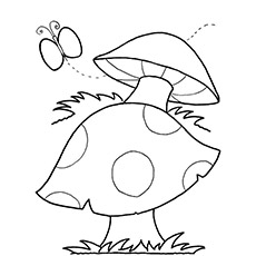 230x230 Top 25 Free Pritable Mushroom Coloring Pages Online