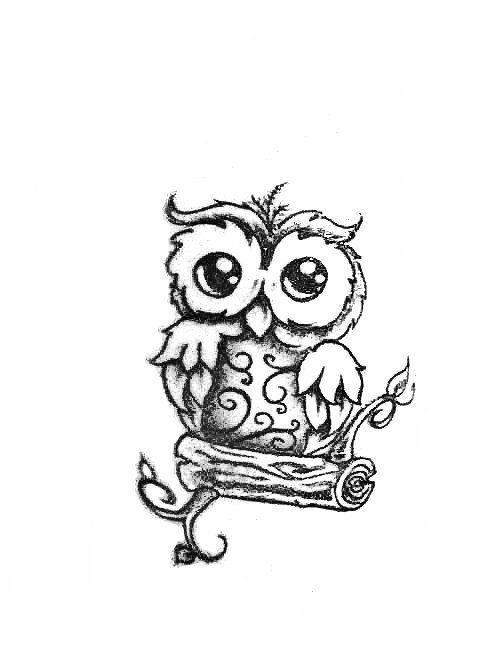 500x667 Love This 9 Owl Tattoo Design Tumblr We Coronary Heart Ithouse