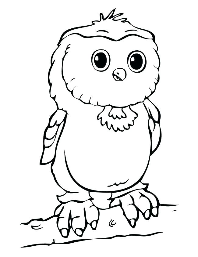 650x842 Cute Owl Coloring Pages Cute Owl Coloring Pages For Kids Cute Owl