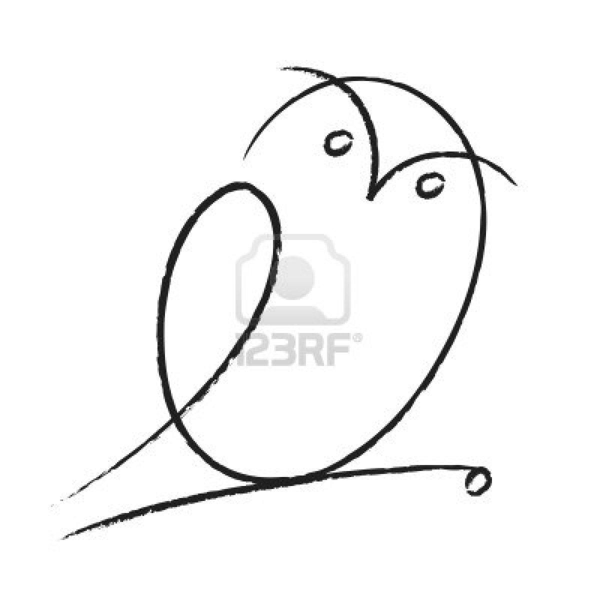1200x1200 Drawn Owl Tiny Owl