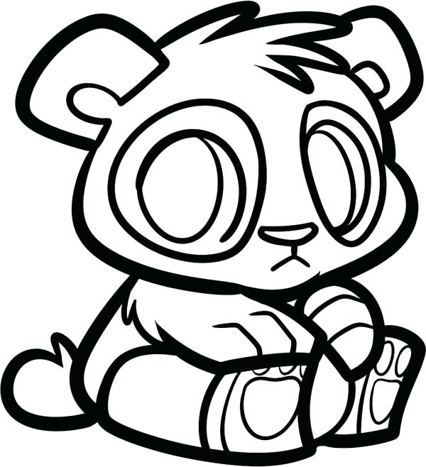 600x658 Panda Bear Coloring Pages Cute Panda Coloring Pages Panda Panda
