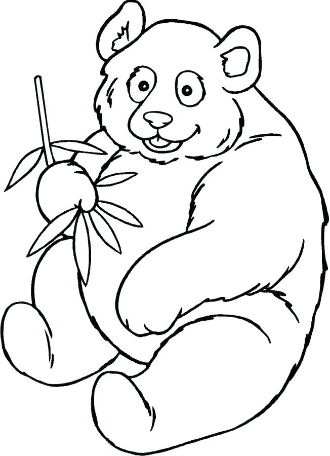 652x900 Panda Coloring Cute Panda Coloring Pages Pin Drawn Panda Colouring