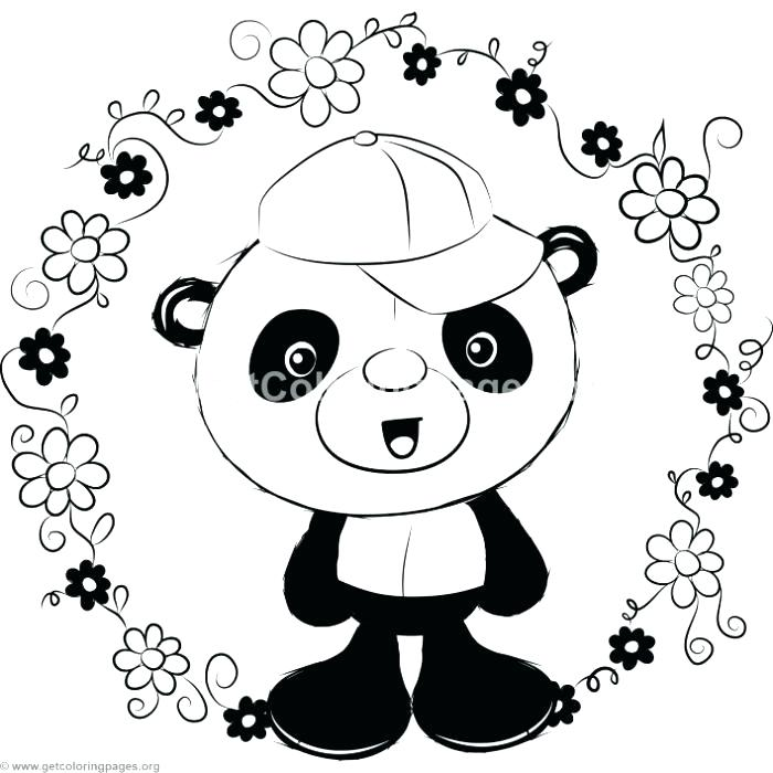 700x700 Panda Coloring Coloring Pages Panda Baby Panda Coloring Pages
