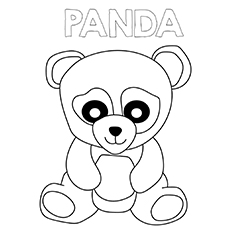 230x230 Top 25 Free Printable Cute Panda Bear Coloring Pages Online