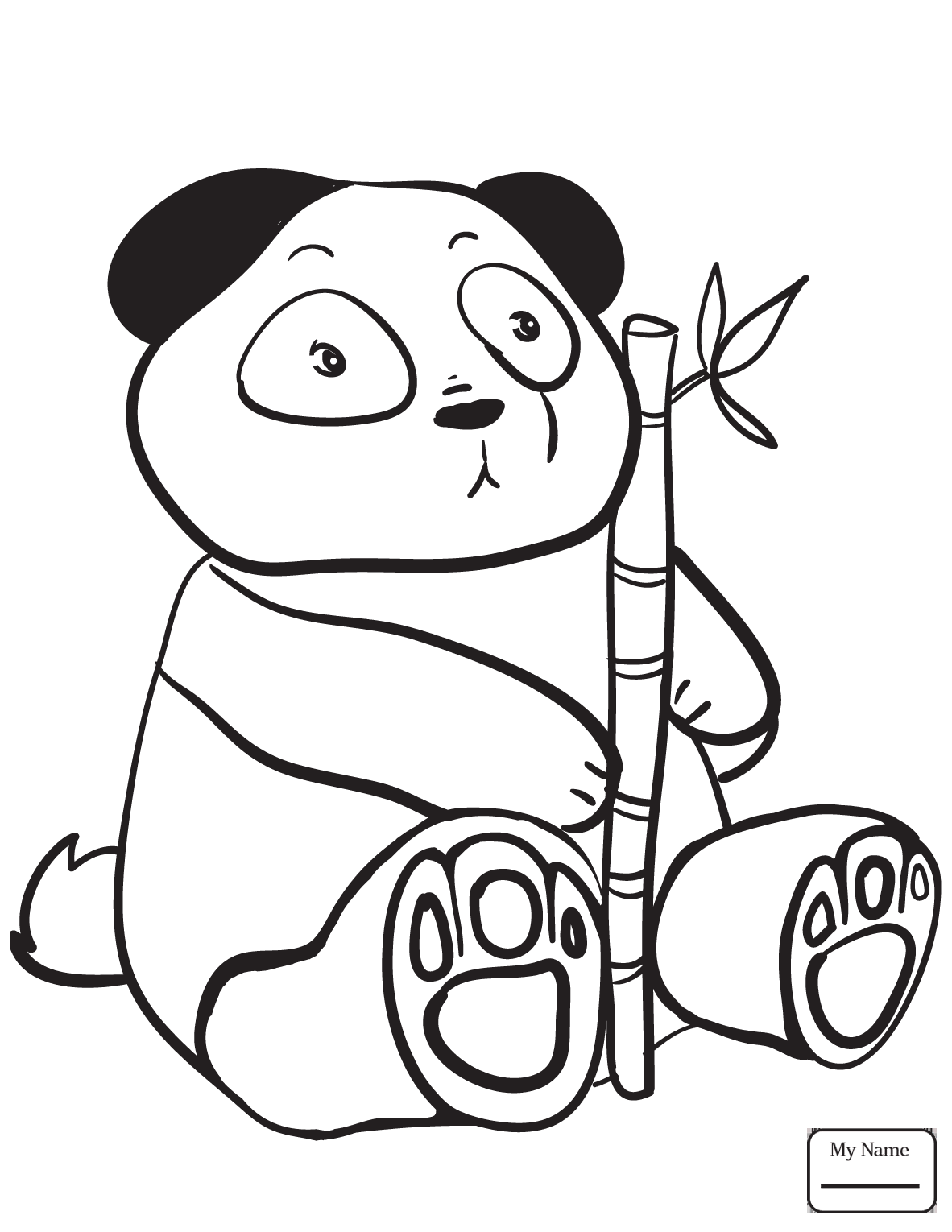1182x1530 Coloring Pages Giant Panda Giant Panda Bear Mammals