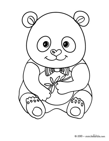 363x470 Cute Panda Coloring Page Pandas!!!! Love Youuuuu