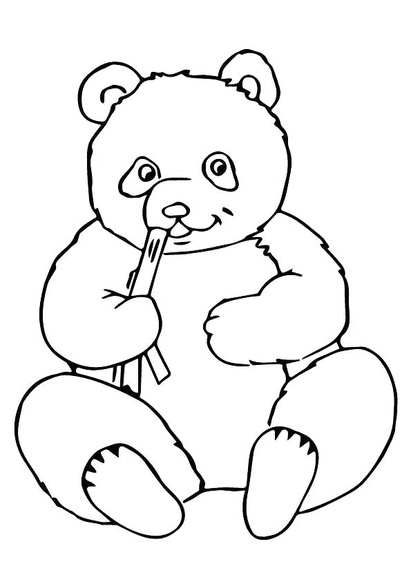 595x842 I Love You Much Coloring Page With Panda Bear Best Pages Ideas