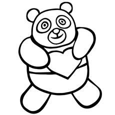230x230 Top 25 Free Printable Cute Panda Bear Coloring Pages Online