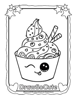 300x388 Coloring Pages Draw So Cute Huihua Craft