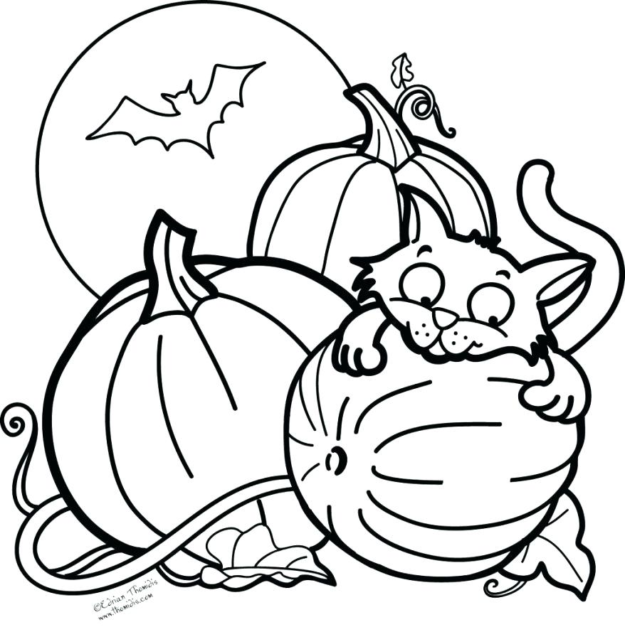 878x882 Funny Halloween Coloring Pages Coloring Pages For Teens Colouring