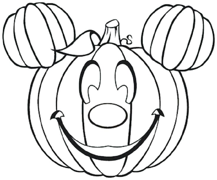 736x612 Pumpkin Coloring Pages Free Printable Cute Pumpkin Coloring Pages