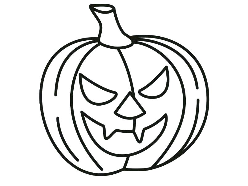 805x604 Coloring Pages Of Pumpkin For Halloween Genesisar.co