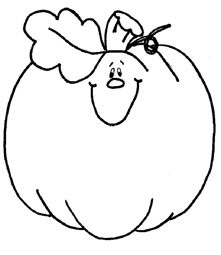 728x838 Cute Pumpkin Clip Art Black And White Cyberuse