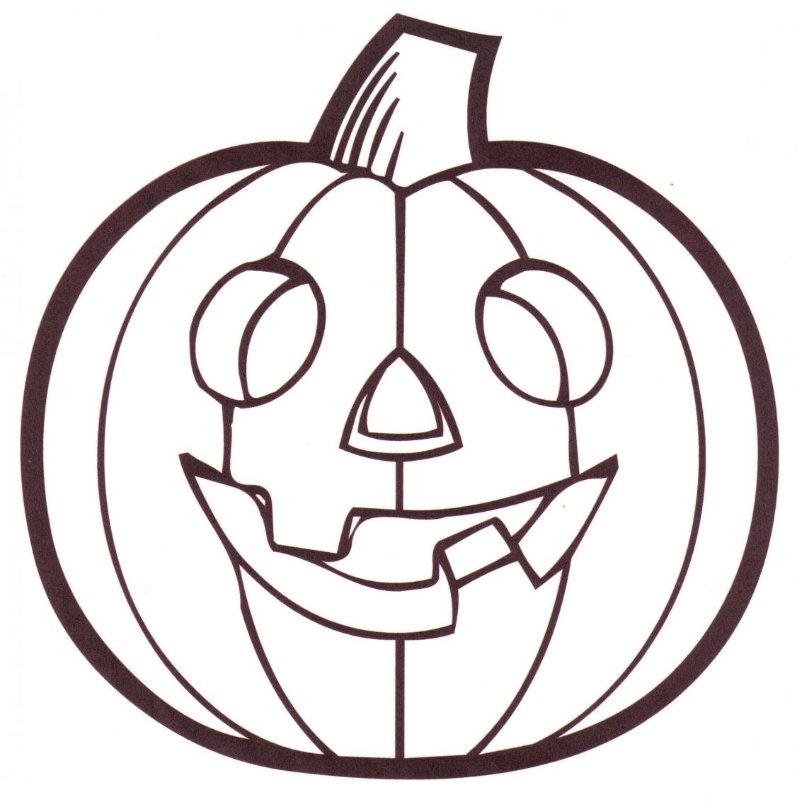 1126x1133 Cute Pumpkin Coloring Pages Free Design Templates