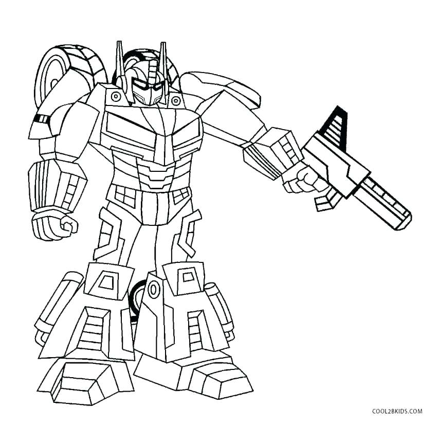 Cute robot drawing at free for personal for Printable robot coloring pages