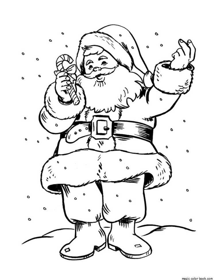 Cute Santa Claus Drawing At Getdrawings Com Free For Personal Use