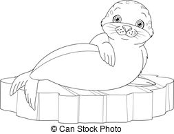 253x194 Arctic Seal Stock Illustration Images. 791 Arctic Seal
