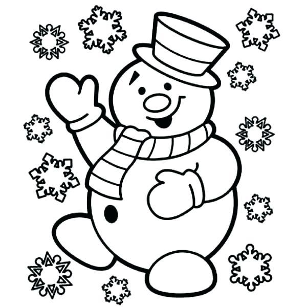 Cute Snowman Drawing at GetDrawings | Free download