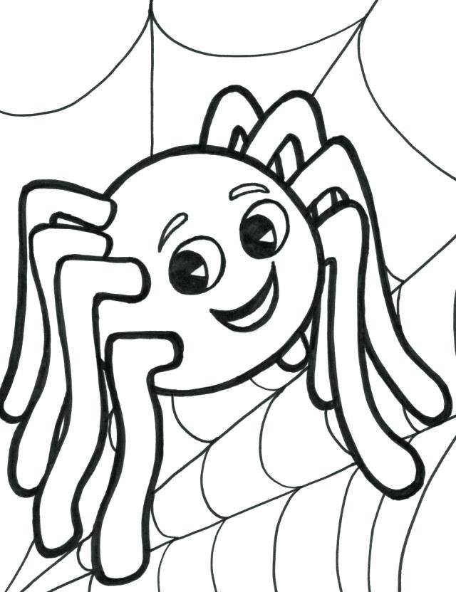 640x832 Spider Coloring Pages Coloring Pages Spider Miss Spider Coloring