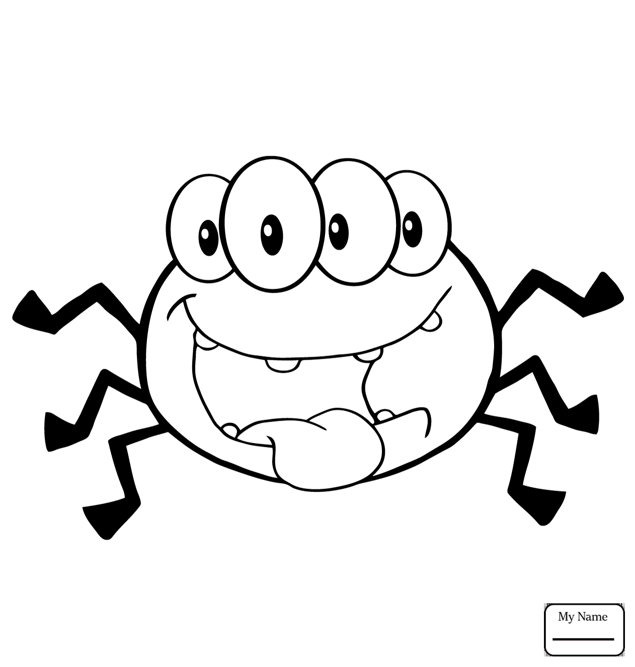 Cute Spider Drawing at GetDrawings.com | Free for personal ...