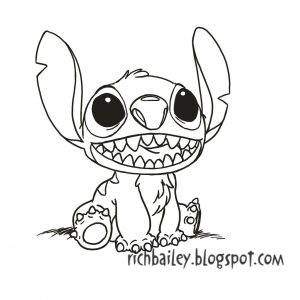 cute stitch drawing at getdrawings com free for personal use cute