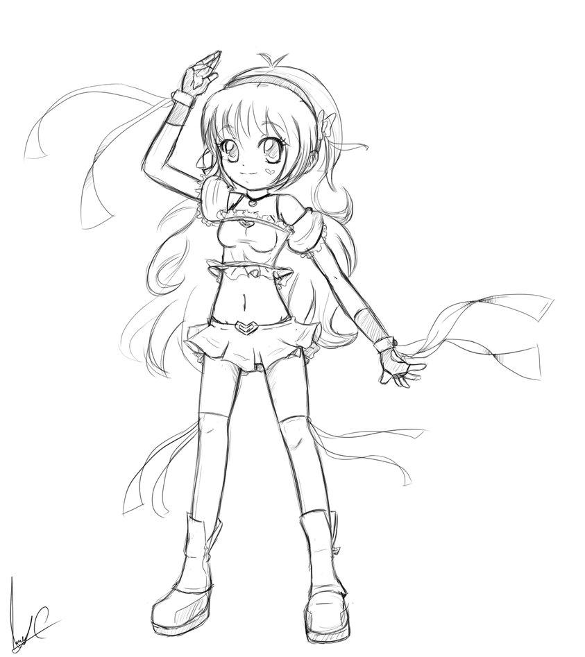 843x947 Super Hero Anime Girl By Hearlesssoul