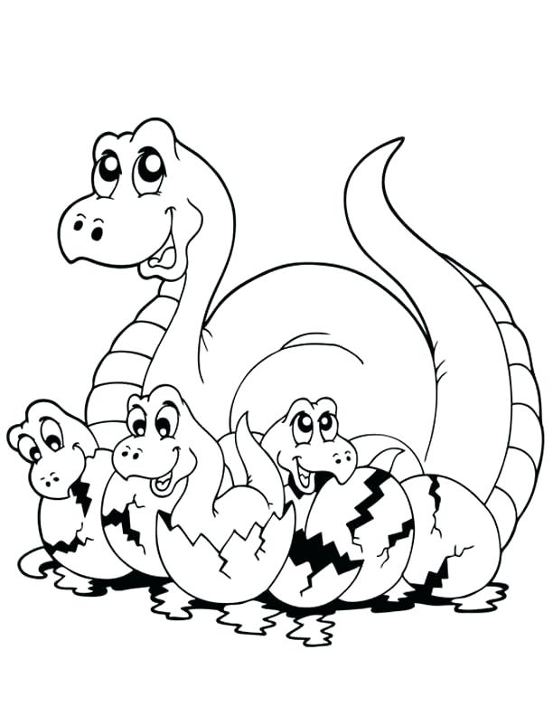 612x792 Great Dinosaur Coloring Pages Image Tyrannosaurus Page Cute Little
