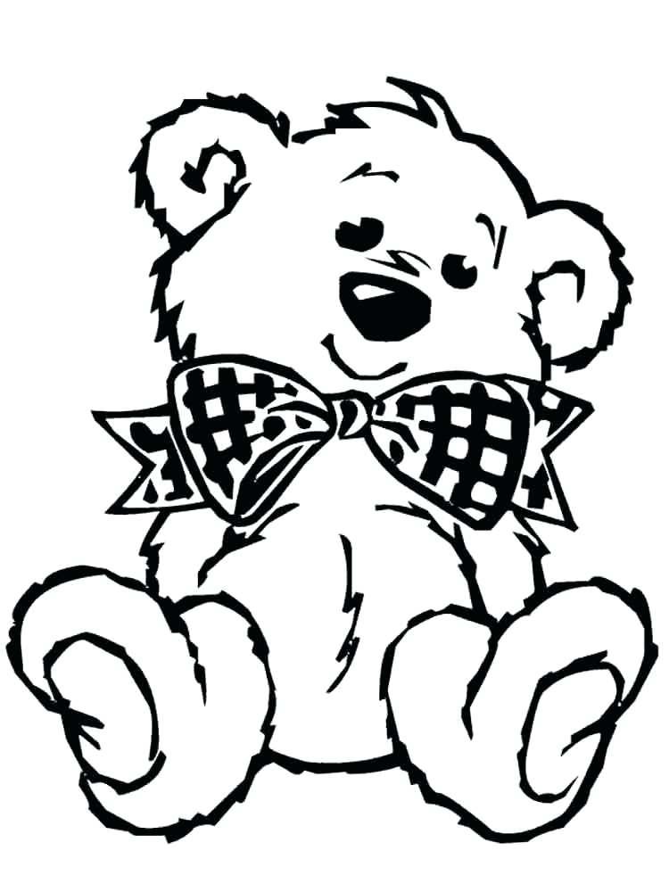 Cute Teddy Bear Drawing at GetDrawings | Free download
